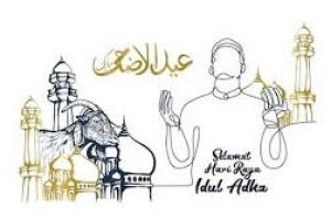 Khutbah Idul Adlha : QURBAN DI TENGAH PANDEMI COVID-19 DAN HIKMAH TERTUNDANYA HAJI 2020