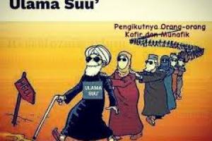 ULAMA YANG MENGOBARKAN KEKERASAN ADALAH ULAMA SU'