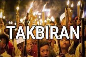 TAKBIRAN DALAM 'IED ADALAH TAKBIR MUQOYYAD DAN TAKBIR MURSAL