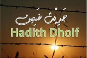 ILMU MUSTHOLAH HADITS : HADITS DLO'IF DAN PEMBAGIANYA